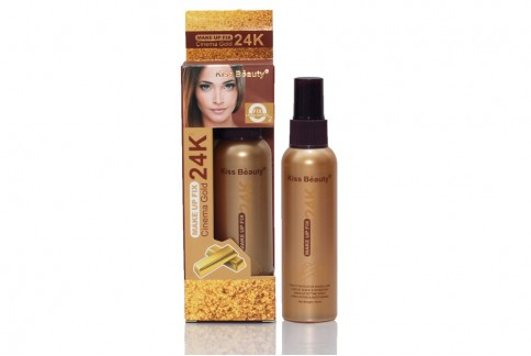 Spray fixare machiaj Kiss Beauty 24K