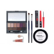 Set machiaj Pensule naturale, Pudra Ingrid, DoDo Eye and Brow 03